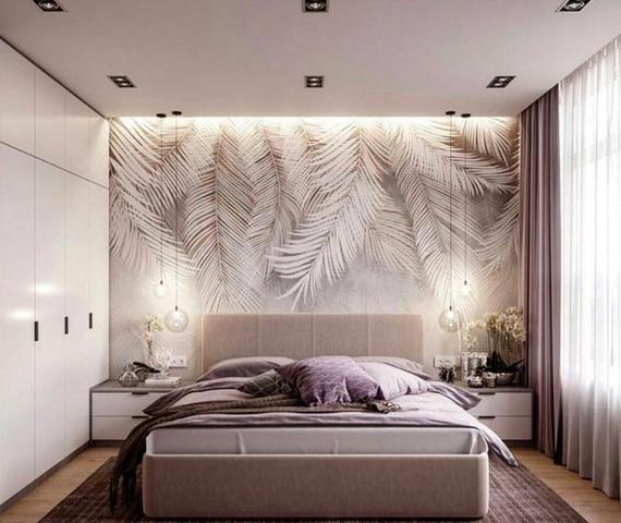 White Tropical Leaves Wallpaper, White Bird Feathe