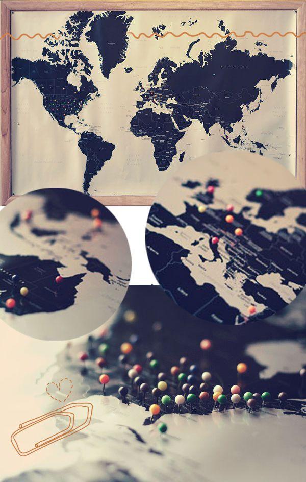 mapa lugares que ja fui diy | diy_mapa_marcado