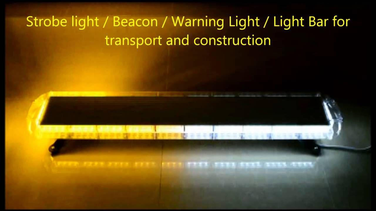 """Led Strobe Lights For Trucks Cool 47"""" Amber White 88 Led Emergency Warning Beacon Tow Truck Strobe Inspiration Design"""