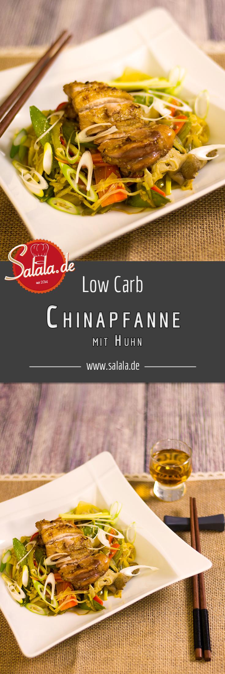 chinapfanne mit huhn low carb rezept low carb pinterest. Black Bedroom Furniture Sets. Home Design Ideas