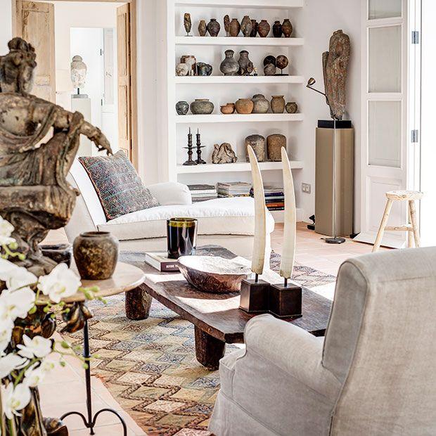 Roelof van der Veen interiors & fine art. Ibiza apartment. | Deco ...
