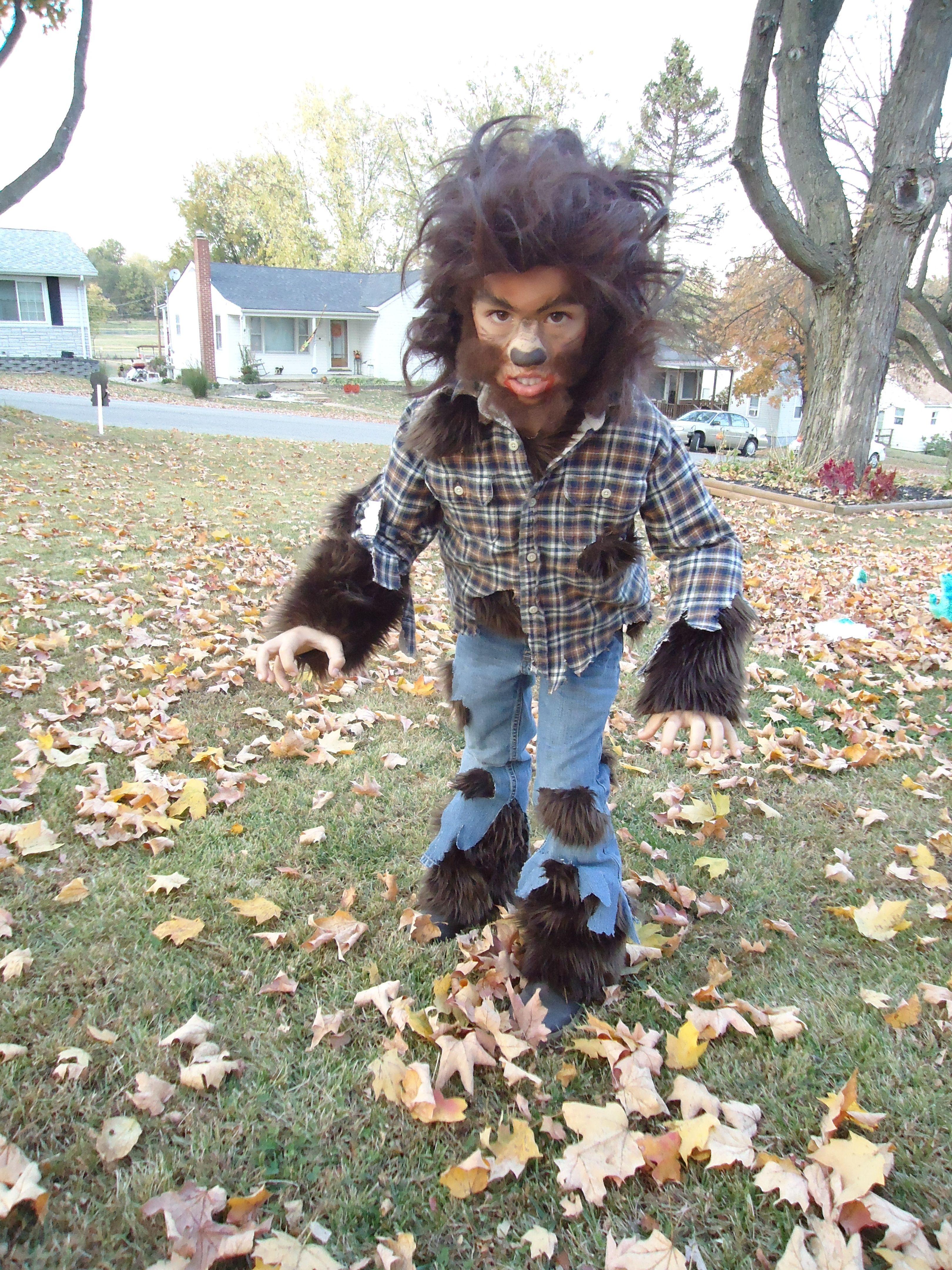 Halloween Costume Life Loup