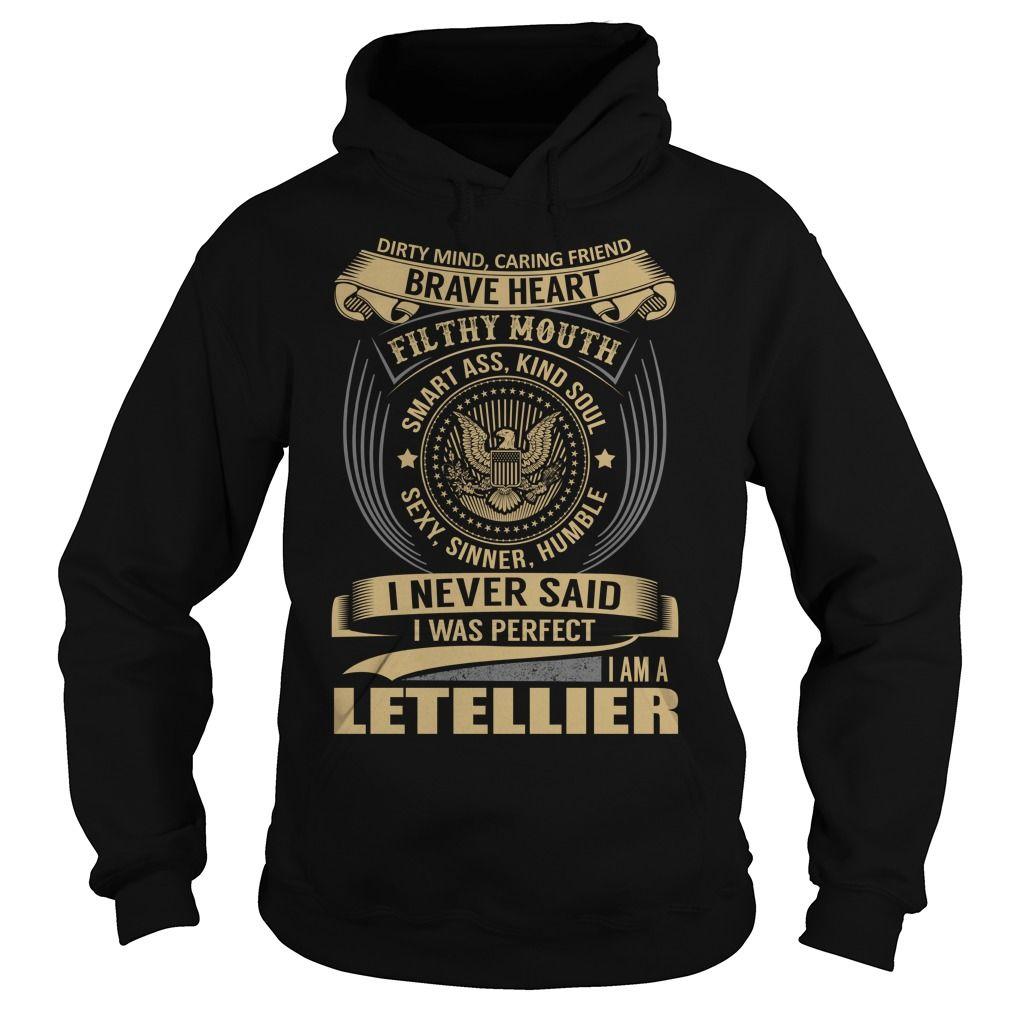 LETELLIER Last Name, Surname T-Shirt