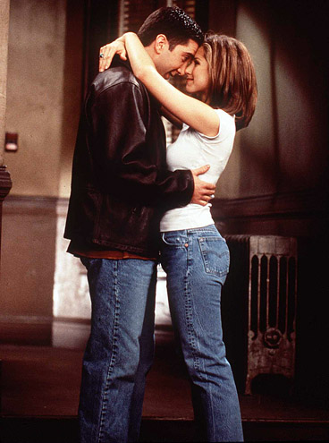Ross Geller & Rachel Green - Friends