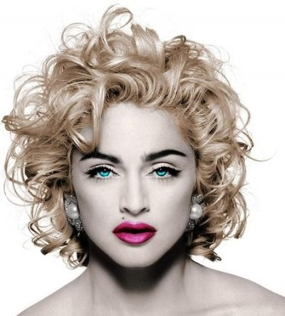 Madonna Medium Curly Hair Styles Curly Hair Styles Hair Styles