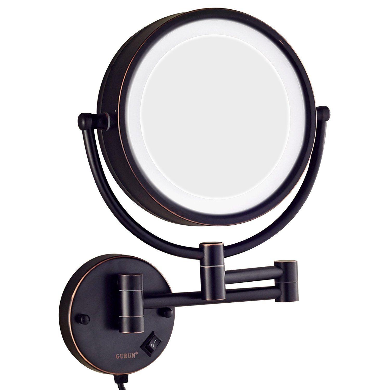 Black Vanity Mirror! Makeup mirror with lights, Makeup