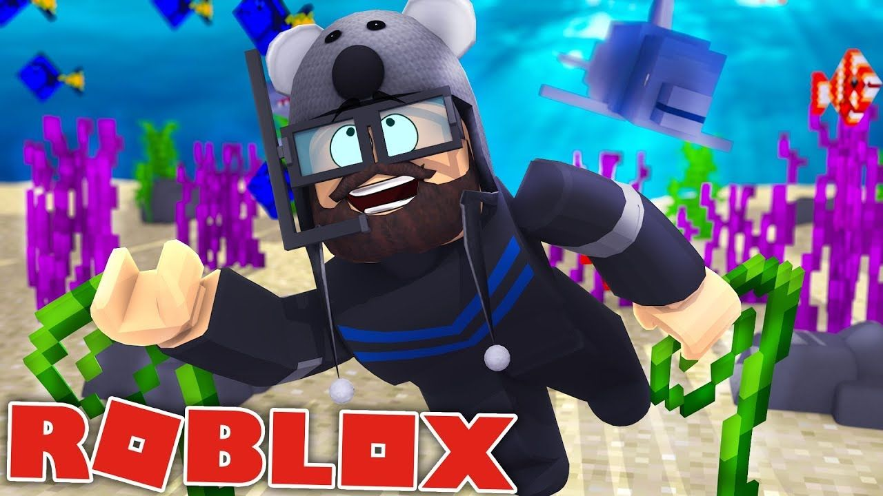 SCUBA DIVING IN ROBLOX!!! Playing ROBLOX Scuba Diving at
