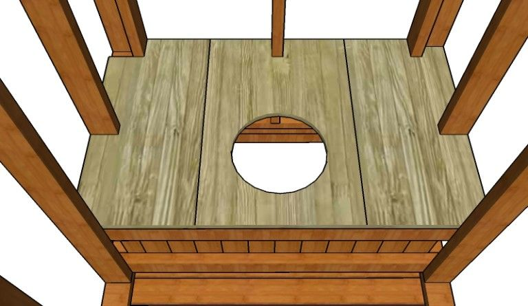 Outhouse Plans MyOutdoorPlans