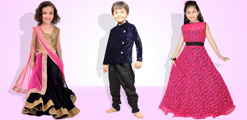 The convenience of buying kids ethnic dresses online shop here ...
