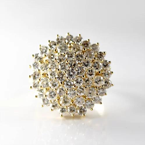 خاتم ألماس ديانا عيار 18 كبير Maryam Co Crown Jewelry Diamond Earrings Earrings