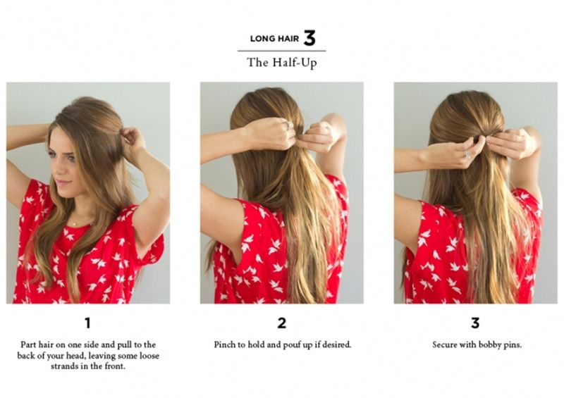 ways to style hair with a straightener 10 easy ways to style hair hair 4930