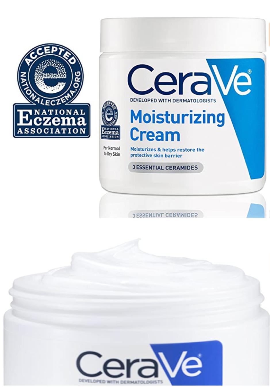 كريم مرطب يومي للجسم والوجه من سيرا في 16 اونصة Skin Moisturizer Skin Help Beauty And Personal Care