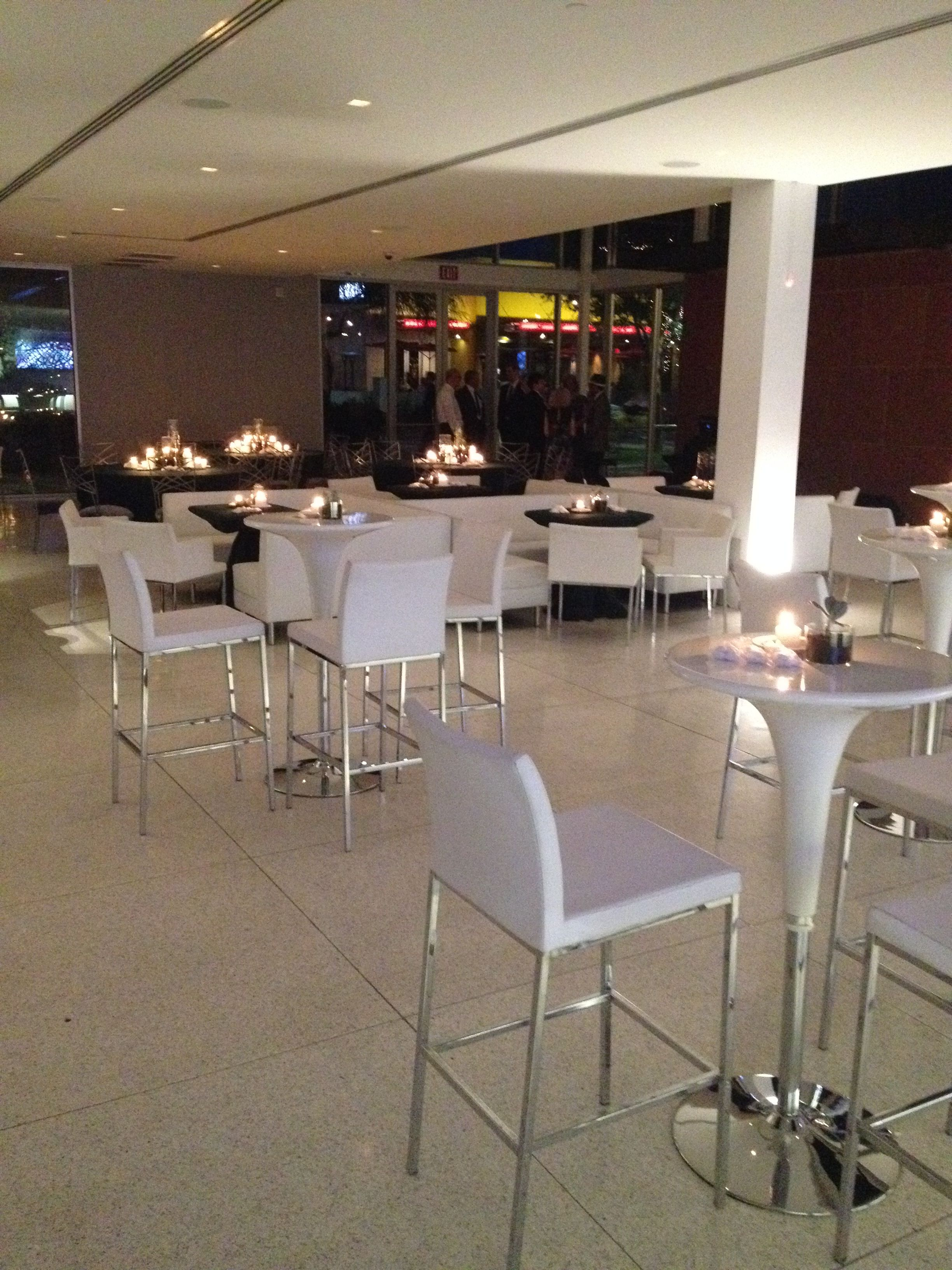 Cocktail Style Seating For Reception Modern Wedding