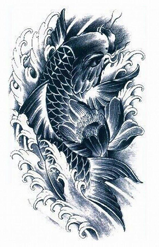 Popular Koi Tattoo Koi Tattoo Koi Tattoo Design Japanese Koi Fish Tattoo