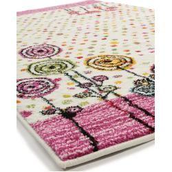 benuta Kids tapis Noa Kids Princess Rose 160×230 cm – tapis pour enfants …