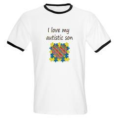 I love my autistic son Ringer T> I love my autistic son> Awareness Avenue