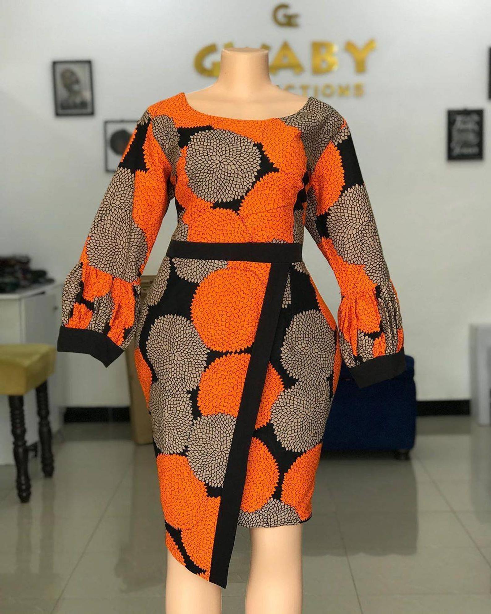 African Print Office Dresses Ankara Summer Dresses African Print Office Dresses Best African Dresses African Fashion Ankara African Fashion Modern [ 1985 x 1588 Pixel ]