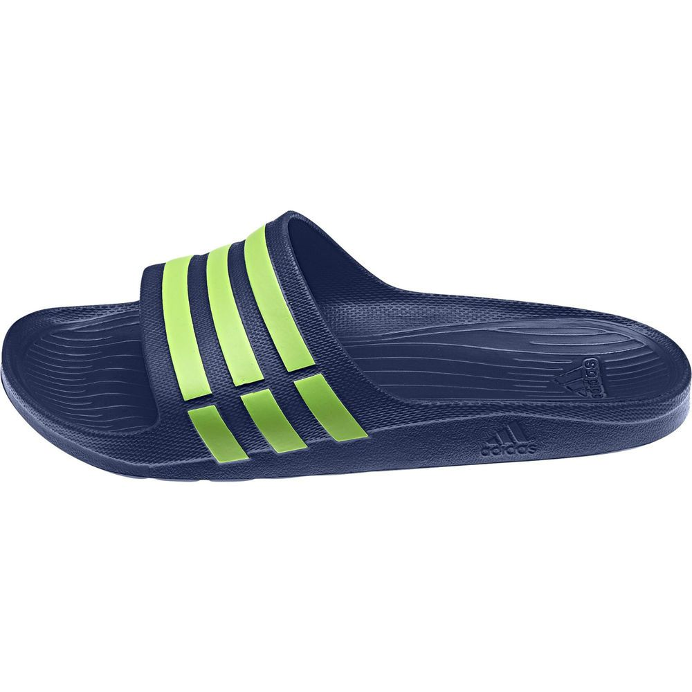 fc4ec4bdbf34b9 Adidas Unisex Duramo Slide Flip Flops G95489 Bath Pool Smart Casual Sandals