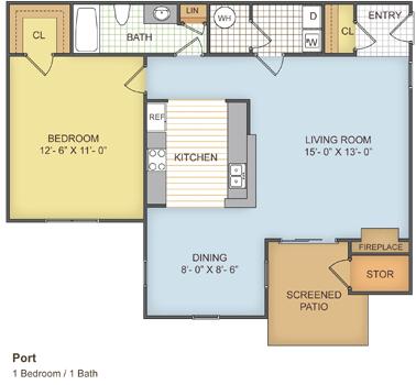 Charleston South Carolina Runaway Bay Apartments Floor Plan Apartment Floor Plan Apartments For Rent Floor Plans