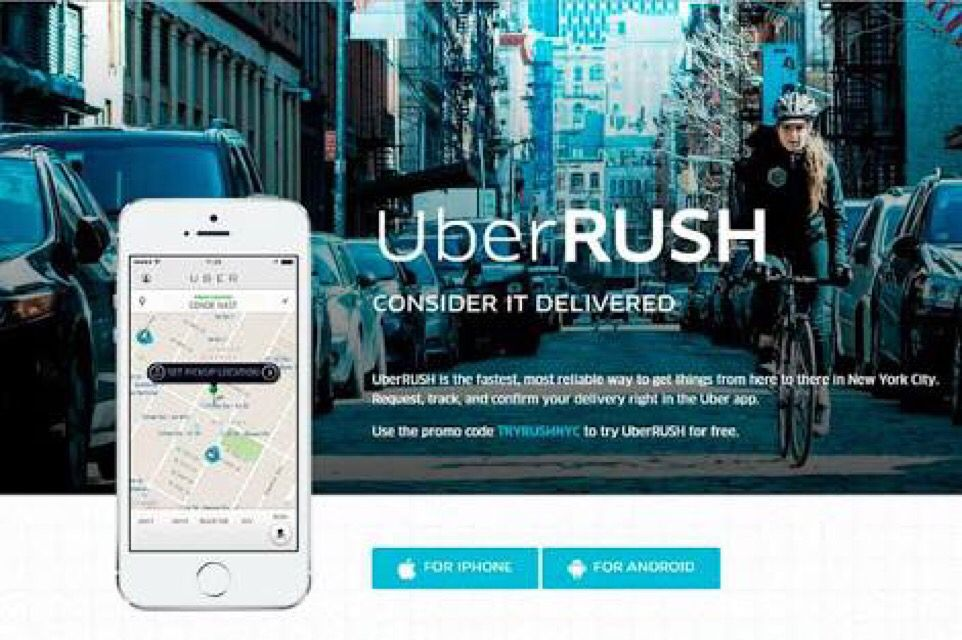 uberrush business plan