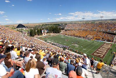 War Memorial Stadium University Of Wyoming Football Wyoming