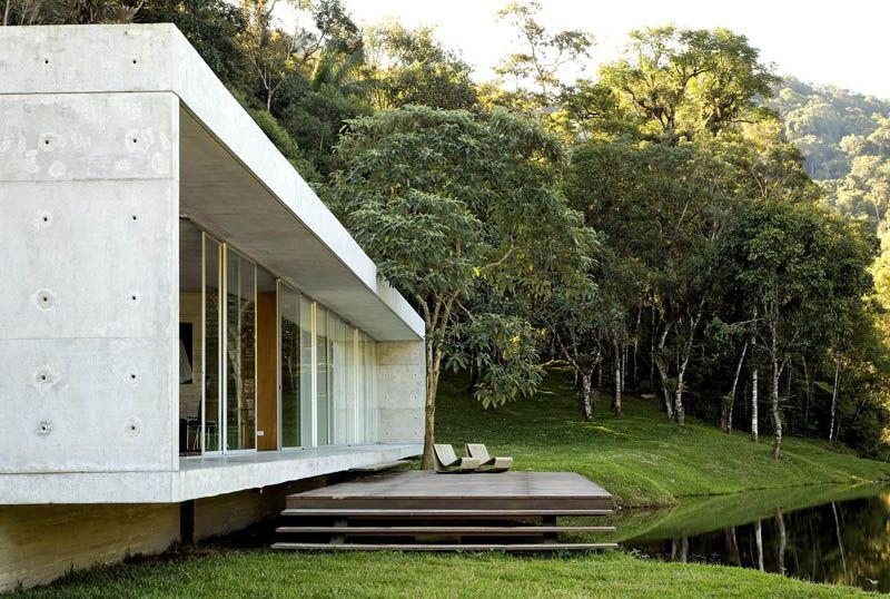 Construire sa maison contemporaine dans les bois Marmaris and House