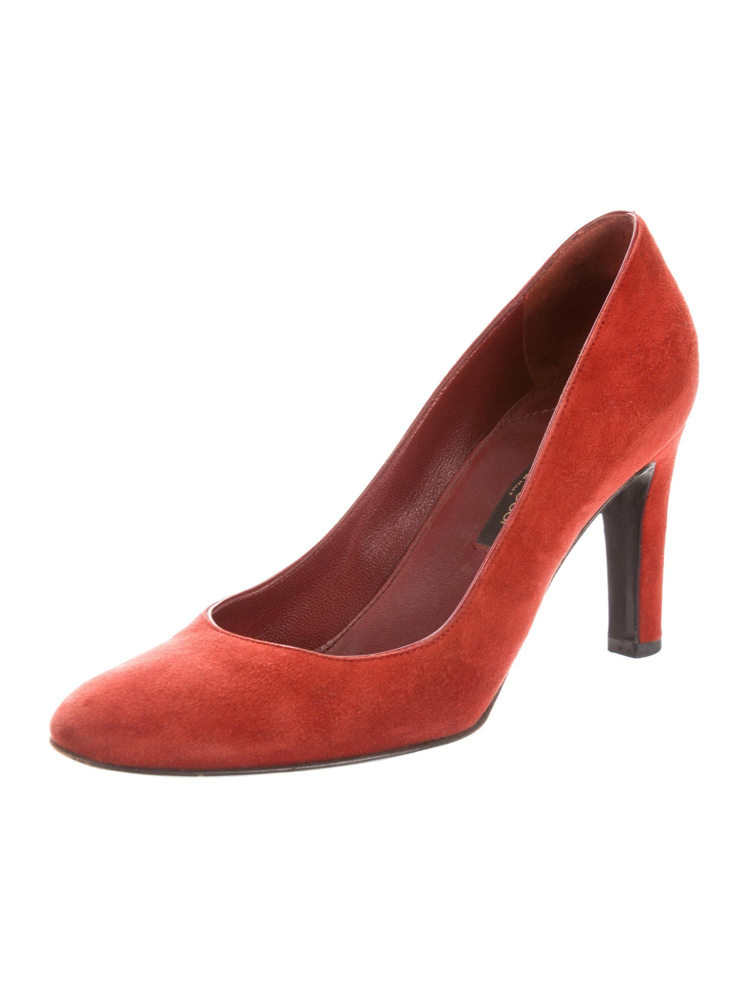 7cabac172313 Sergio Rossi Suede Round-Toe Pumps - Shoes - SER32999