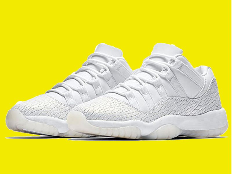 2017 Air Jordan 11 Low 'Frost White' For Sale