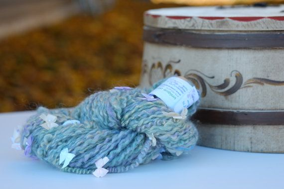 Coiled Bows in Kid Mohair by uniquedesignsbykathy on Etsy, $48.00