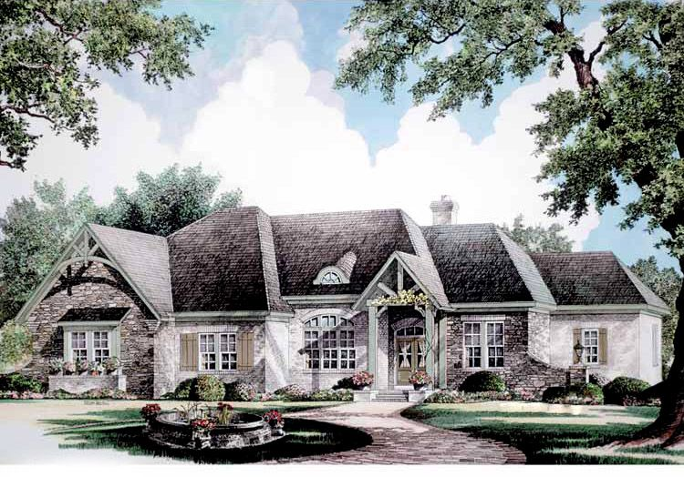 Plan 5450lk Country French Styling French Country House French Country House Plans Country Style House Plans