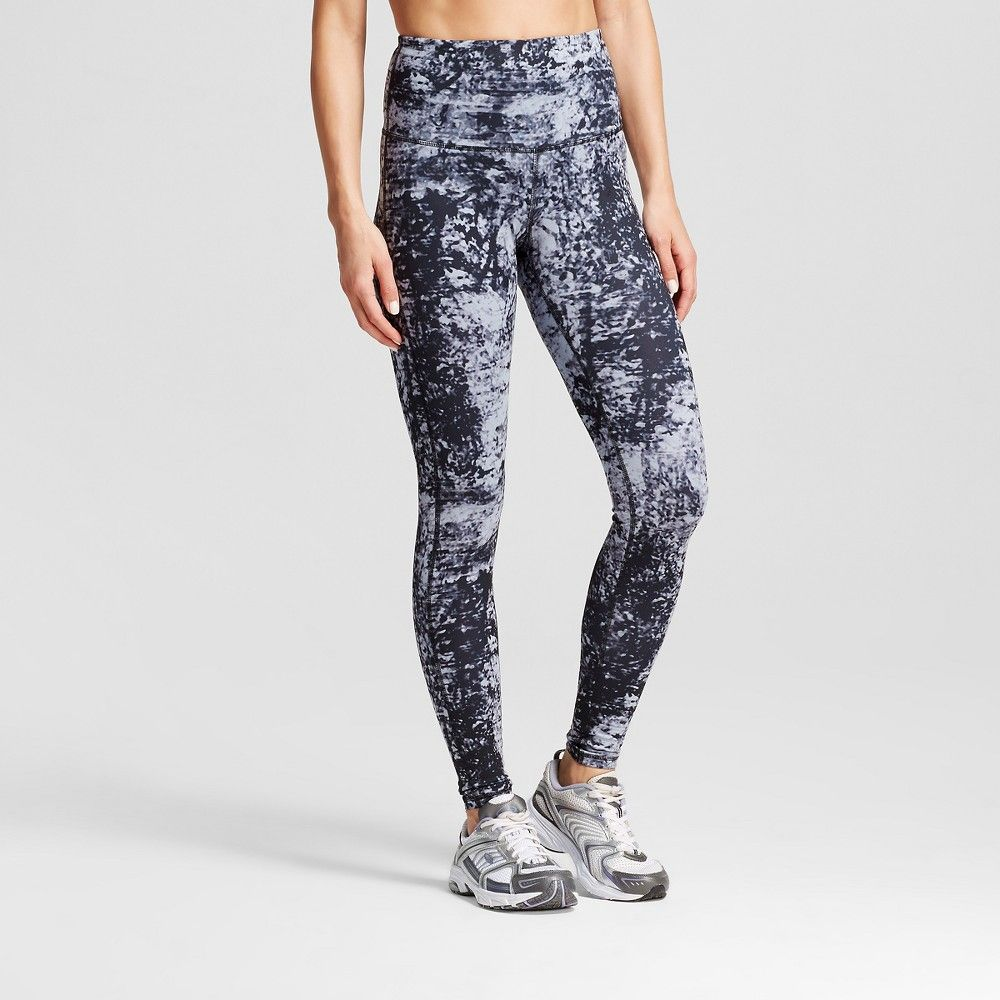 9676d7af6c48 Women s Freedom High Waist Leggings - Distressed Texture Print Gray XS - -  C9 Champion