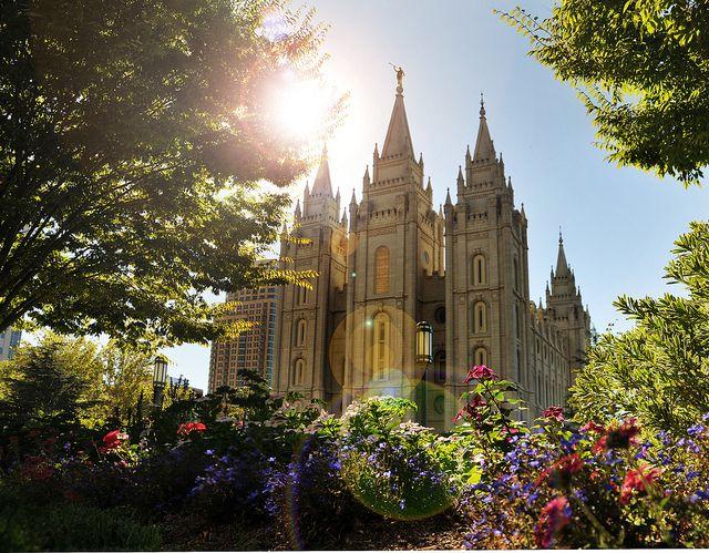 Salt Lake Temple square shot temple square grass 2 by houstonryan, via Flickr