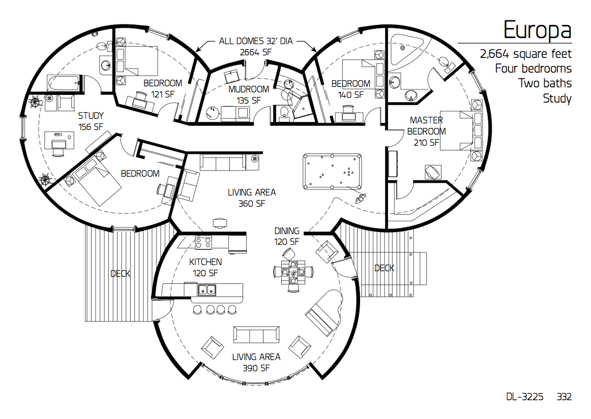 Image: | Floor plans, House floor plans, Monolithic dome homes