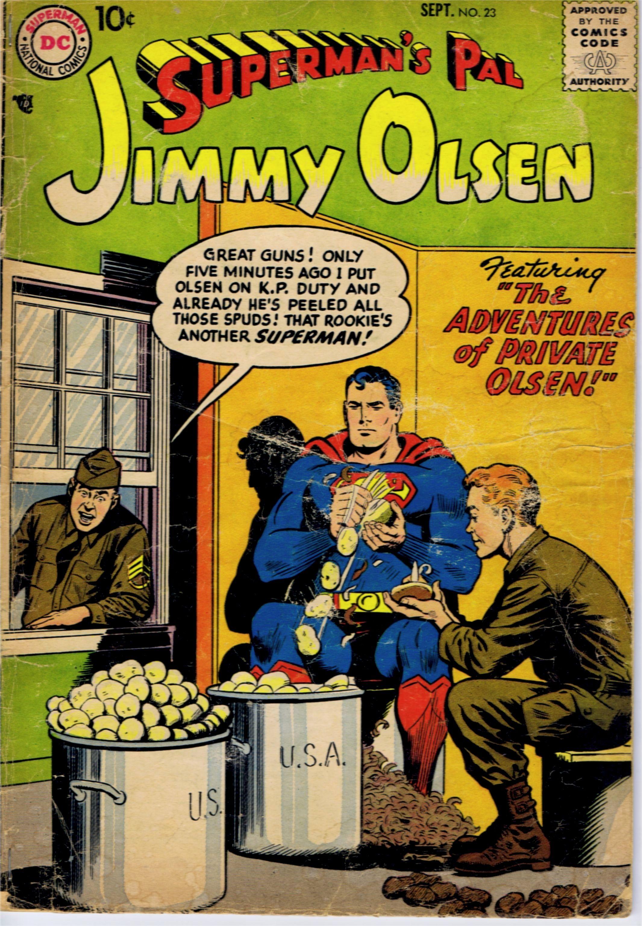 Jimmy Olsen #23 www.ephemeritor.com
