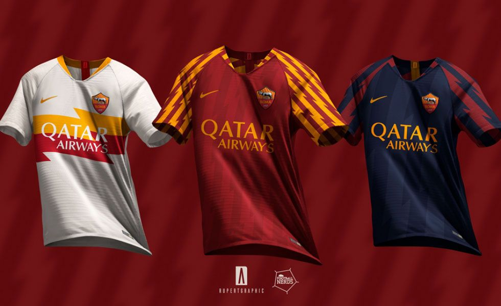 61543199d AS Roma 19-20 Concept Kits by Rupertalbe - Footy Headlines