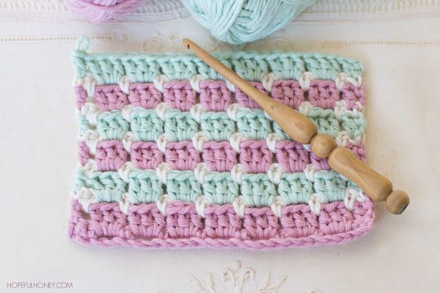 How To Crochet The Block Stitch Easy Tutorial Knitting