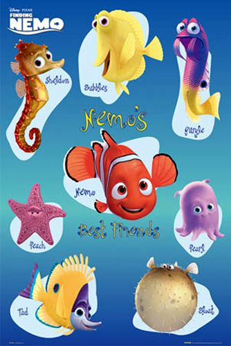 Some characters from nemo. | Best movies ever made in the ...