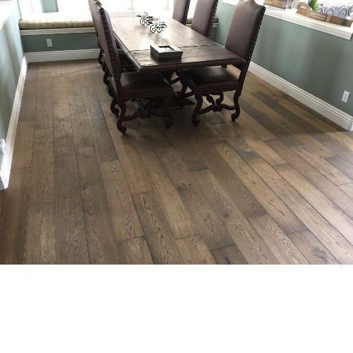 White Oak 1 Common 4mm Wear Layer Wire Brushed Engineered Prefinished Flooring Engineered Flooring Flooring Hardwood Floors