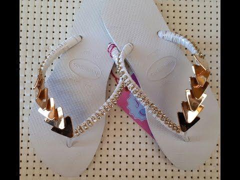 Pin de Drica em chinelos customizado   Decorações em