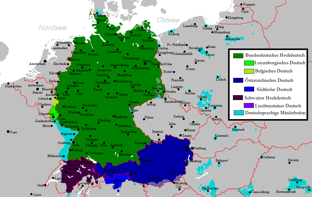 sprachvariet228ten deutsch deutsche sprache � wikipedia