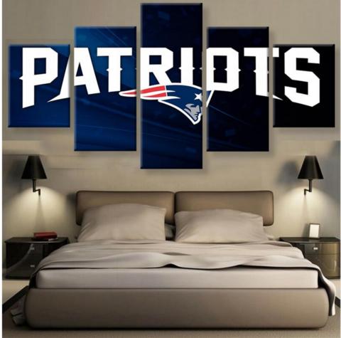 HD PRINTED LIMITED EDITION PATRIOTS CANVAS   New England Patriots ...
