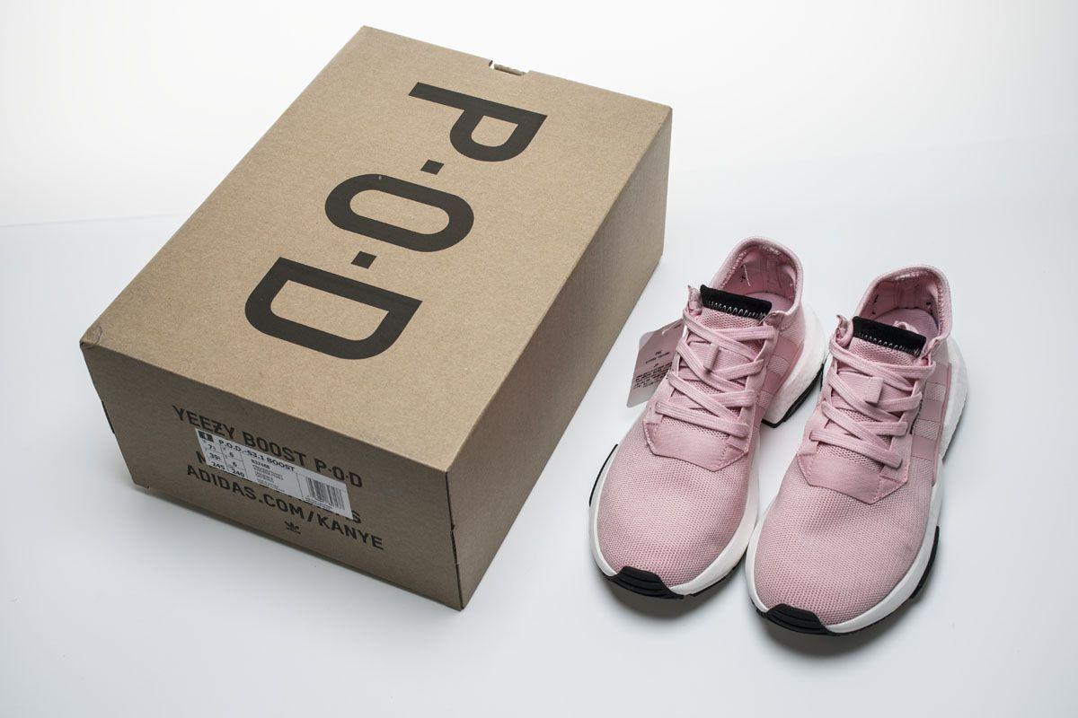 the best attitude d6358 0b4cd Adidas POD S3.1 Boost B37468 Pink White Black Girls Shoes7