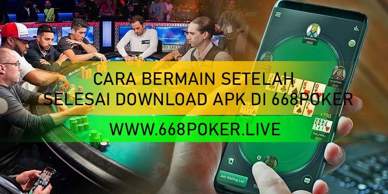 Cara Bermain Setelah Selesai Download Apk Di 668poker Blackjack Permainan Berhitung Poker