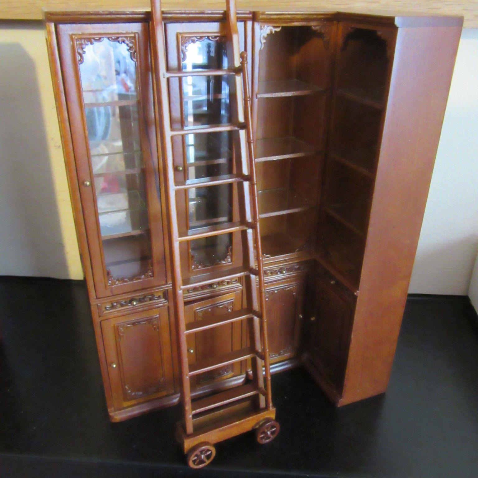 Dolls House Furniture Shop Units Or House Cabinet Set JiaYi