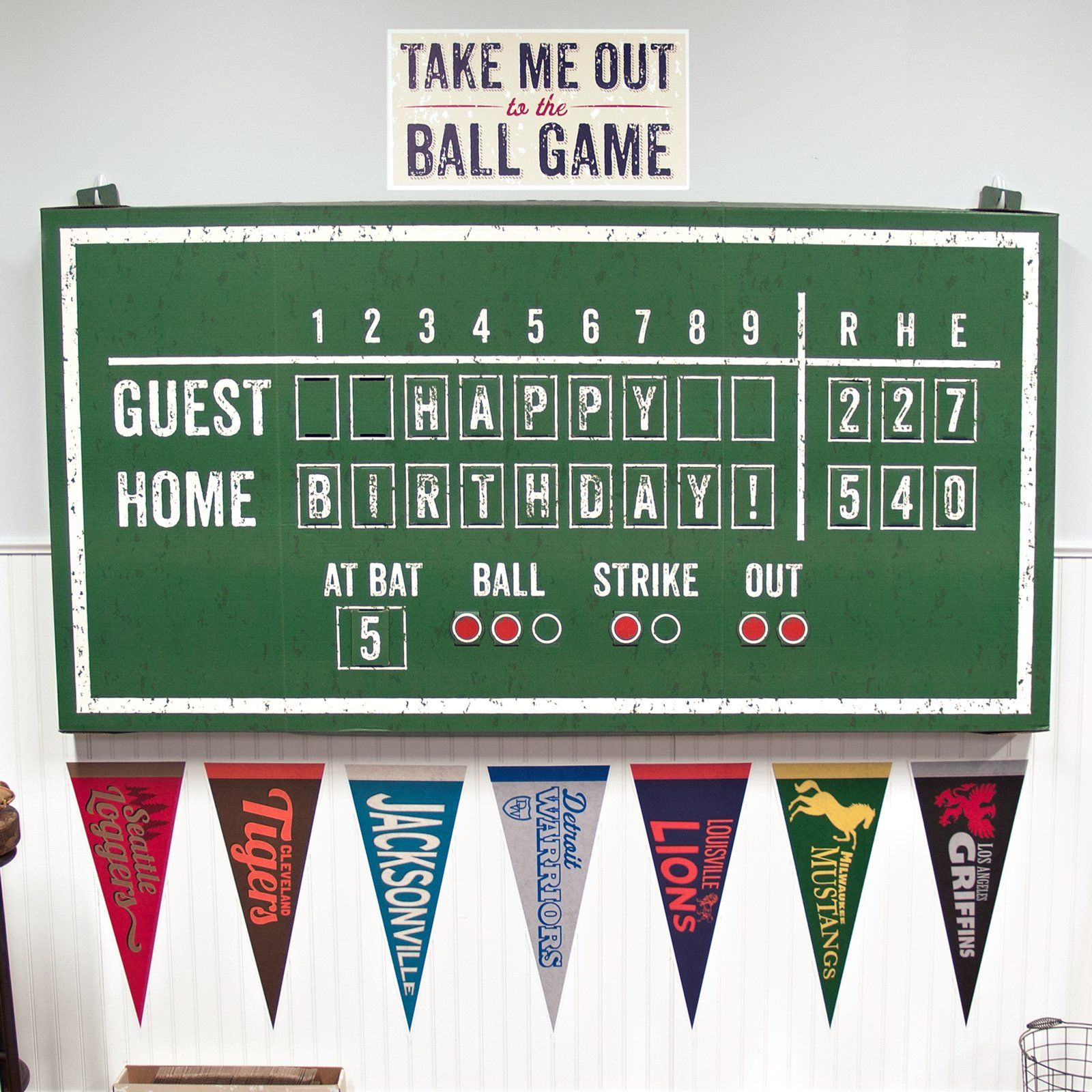 Template For Dessert Table Backdrop Baseball Time Hanging