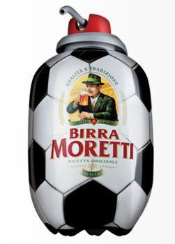 E' il Pallone Birra Moretti: 4 litri di ottima birra spillata a casa come nei migliori locali