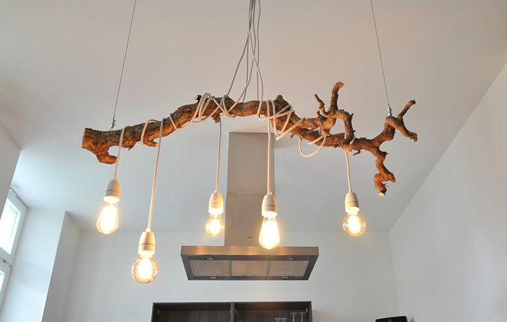 Textilkabel Lampe Ast  DecoBalconyGarden in 2019