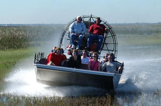 Boggy Creek Airboat Rides Everglades Airboat Airboat