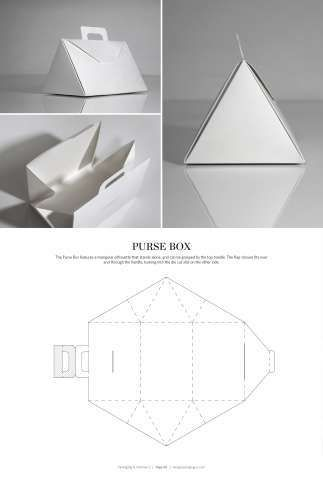 Lovely Origami Packaging Templates Best Photos For World