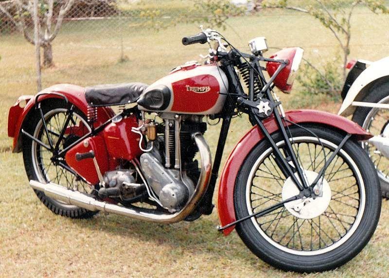 1938 Triumph 5h Classic Motorcycles Triumph Motorbikes Triumph Bikes